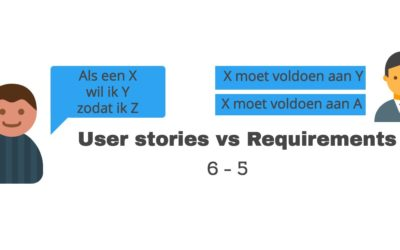 User stories vs Requirements