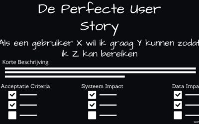 10 Tips voor de perfecte User Story