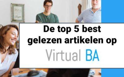 De 5 Best gelezen artikelen op Virtual BA