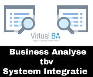 Business Analyse tbv Systeem integratie